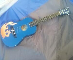 Travel acoustic guitar