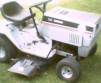 """Craftsman LT 11 11hp 7speed shift on fly 38"""" deck riding mower"""