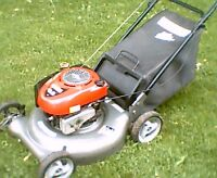 "Craftsman 6.5hp 21"" lawnmower with bag"
