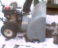 "MTD Snowflite 5hp 24"" snowblower"