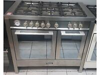 Baumatic BCE1025SS Dual Fuel Double Oven Range Cooker with Warranty