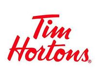 Tim Hortons Robie St. and Debert hiring backshift $12/hr