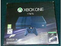 Xbox One 1TB Forza Limited Edition (Used but good condition)