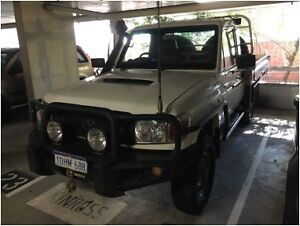 2010 Toyota LandCruiser Workmate **12 MONTH WARRANTY** West Perth Perth City Area Preview