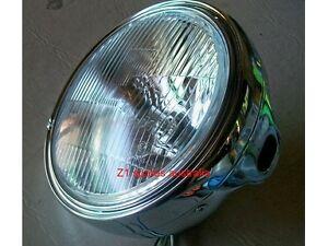 kawasaki chrome halogen headlight complete Z650 Z 750 Z1 Z900 Z1000 H2