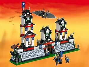 6093 flying ninja fortress lego