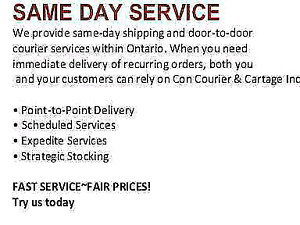 Courier | Services in Toronto (GTA) | Kijiji Classifieds