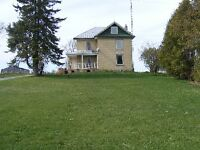 Farm House for Rent between Lindsay and Peterborough