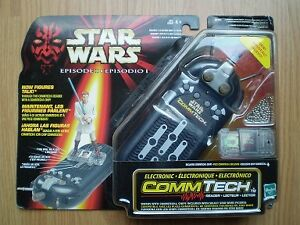 Star Wars Episode 1 COMMTECH Reader with 3 figures