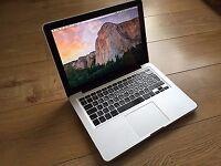 Macbook Pro laptop 256gb SSD hd 8gb ram with backlit keyboard fully working