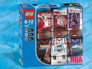 Lego NBA Collectors set (3564) NEW Open Box
