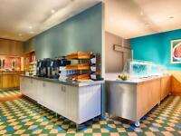 Hotel Restaurant Hot & Cold Buffet / Servery with Surface / Storage Units - Excellent Condition