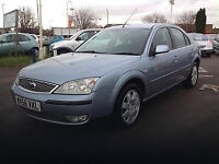 2007 56 FORD MONDEO ZETEC 2.0 TDCI 130 DIESEL (CHEAPER PART EX WELCOME)