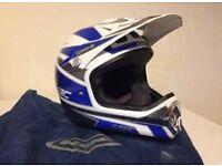 KBC motocross helmet SIZE SMALL