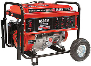 New King generator 6500 watt