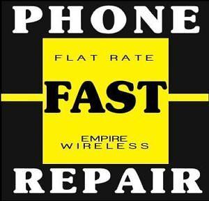 WE REPAIR CELL PHONES BROKEN SCREEN FAST AND UNLOCK PHONES!