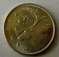 1968 Silver Canada 25 Five Cent Coin from BANK ROLL