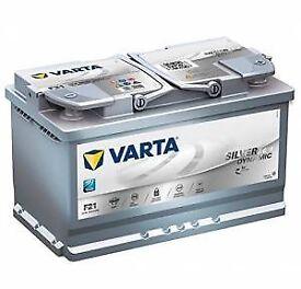 F21 Varta Start-Stop Plus AGM Car Battery 12V 80Ah