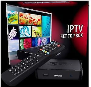 IPTV BOXES Mag 254 , Mag 322, Z7+, Buzztv XPL3000 AND T2