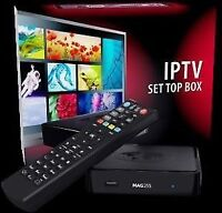 Mag 254 Iptv Box Over 1500 HD TV Channels