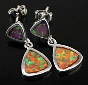 Orange Fire Opal Jewelry