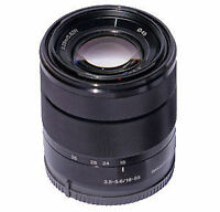 Sony 18-55mm E-Mount AF Zoom lens, New Rare Black