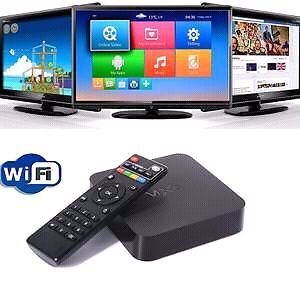MXQ Android Box. Watch movies n shows free!