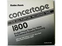 Concertape 1800 reel tapes