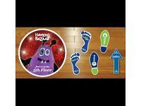 Get Discounted Floor Stickers
