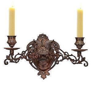 wandkerzenhalter antik m bel wohnen ebay. Black Bedroom Furniture Sets. Home Design Ideas