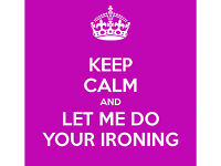 DOOR TO DOOR IRONING SERVICE