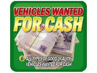 Wanted cash for cars scrapping my car sell my cars cash paid free collection