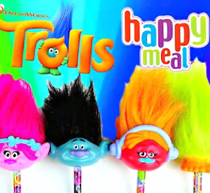WANTED McDonalds Trolls Movie Happy Meal Toy Maccas Joslin Norwood Area Preview
