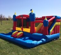 Outdoor Inflatable Bouncers for Rent by Uber Bounce