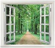 Fototapete Fenster