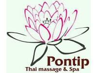 Pontip Thai massage and spa. Special offers £25 Monday only.