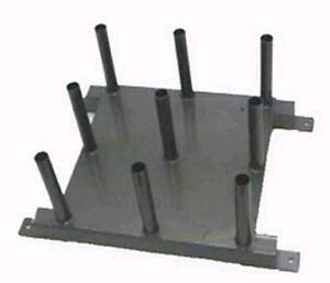 CLOSING DOWN SALE!!! - BARBELL STORAGE RACK HOLDS 9 X BARBELLS Bayswater North Maroondah Area Preview