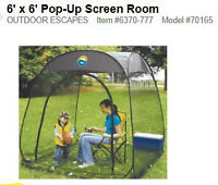 6' x 6' Pop UP Tent - NEW IN BOX