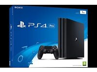 Playstation 4 with couple of games