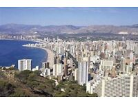 Mar10-Mar18 Penthouse 2-bdr apartment with large private terrace in Benidorm, Spain