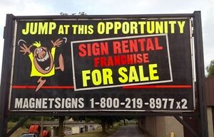 Sign Business for Sale Kawartha Lakes Peterborough Area image 1