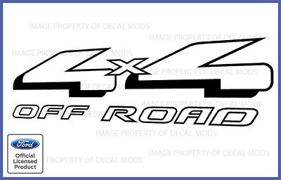 Ford Ranger 4x4 Off Road Vinyl Decal Truck Sticker