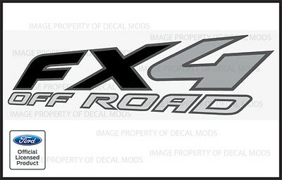 2005 Ford F250 Fx4 Offroad Decals Stickers - Truck Super Duty Off Road Bed
