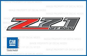 set of 2: 2014 Z71 Off Road Decals - F stickers Parts Chevy Silverado GMC Sierra