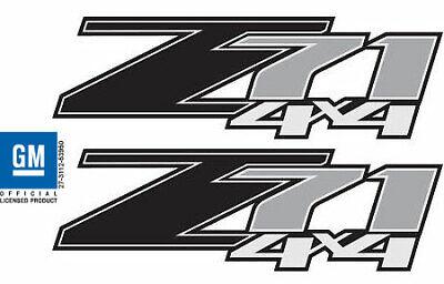 2011 Chevrolet Silverado Z71 4x4 decals - FB - 1500 2500 GM stickers Chevy
