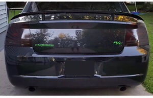 2006, 2007, 2008 Dodge Charger pre-cut smoked overlays F/R West Island Greater Montréal image 3