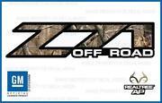 Camo Z71 Decals