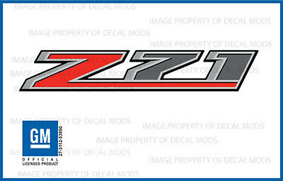 2 - 2016 Z71 Decals - F stickers Parts Chevy Silverado GMC Sierra Truck Bed 4x4 Gmc Canyon Truck Parts
