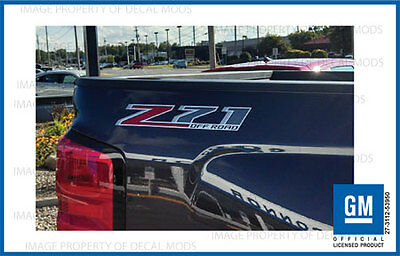 Z71 Off Road Decals Stickers 2014 2015 2016 2017 Chevy Silverado GMC Sierra   F