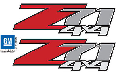 2   Z71 4x4 F Chevy 07 13 Decal Sticker Parts for Silverado GMC Sierra truck